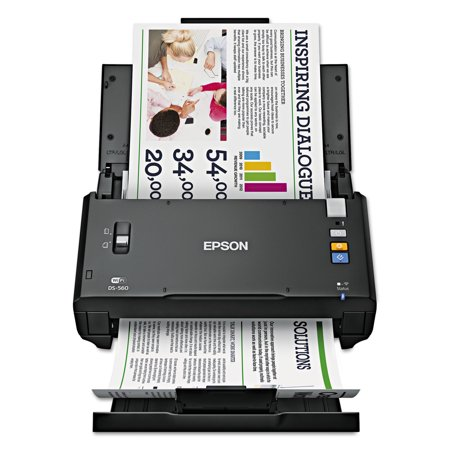 Epson Workforce Ds 560  600 X 600 Dpi  Black