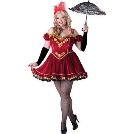 Circus Cutie Ringmaster Sexy Plus Size Womens Burlesque Halloween Costume 3X