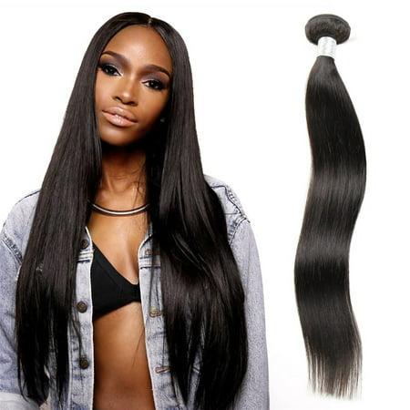 (Unique Bargains Remy Virgin Human Hair Straight Ustar Brand 10