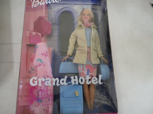 Barbie Grand Hotel Doll With Suitcase