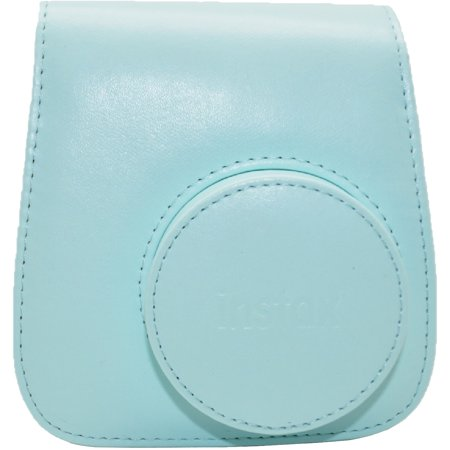 (Fujifilm Groovy Case for Instax Mini 9 Instant Camera (Ice Blue) with 20 Twin Prints + Cleaning Kit)