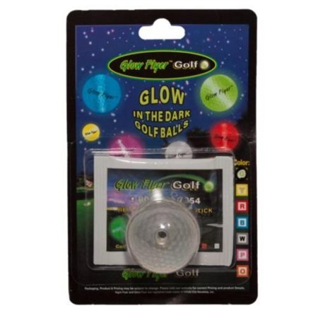ProActive Glow Flyer Ball - Glow in the Dark Golf Balls - Glow In The Dark Golf Course