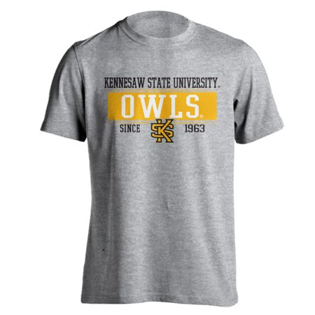 Kennesaw State University Owls KSU Since 1963 Ash Heather Short Sleeve T-Shirt - Kennesaw State University Halloween Party