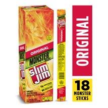 Jerky & Dried Meats: Slim Jim Monster Meat Sticks