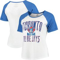 Toronto Blue Jays Women's Timeless Serenity Baseball T-Shirt - White