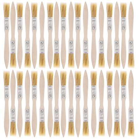 US Art Supply 36 Pack of 1/2 inch Paint and Chip Paint Brushes for Paint, Stains, Varnishes, Glues, and Gesso
