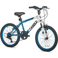 """BCA 20"""" MT20 Mountain Boy's Bike, Blue/White"""