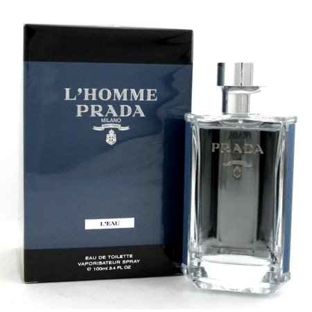 LHomme Prada Leau by Prada for Men - 3.4 oz EDT Spray