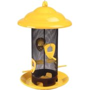 Stokes Select Sedona Screen Bird Feeder, 4 Feeding Ports, 3 lb Bird Seed Capacity