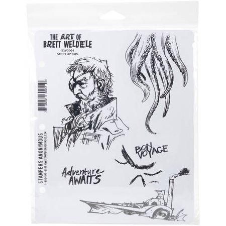 Brett Weldele Cling Stamps, 7
