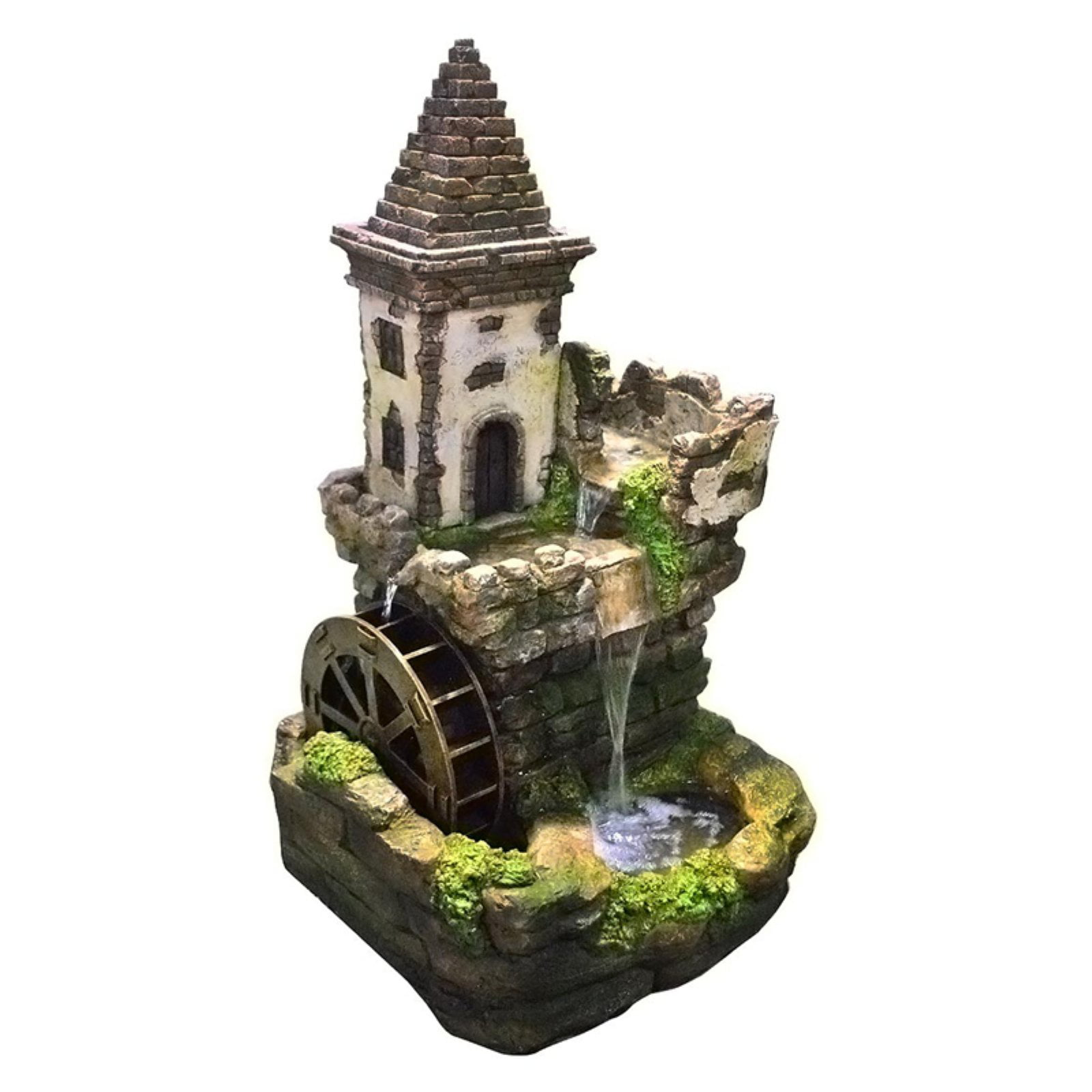 "35"" Castle Tiered Fountain by Alpine Corporation"
