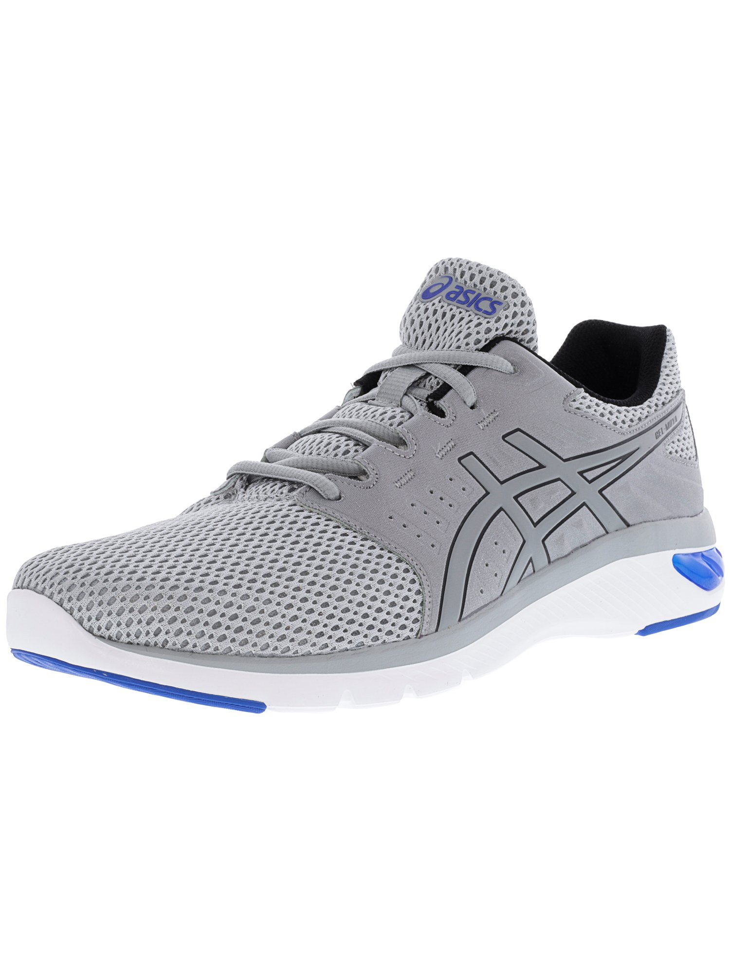 Asics Men's Gel-Moya Mid Grey / Victoria Blue Ankle-High Running Shoe - 9.5M