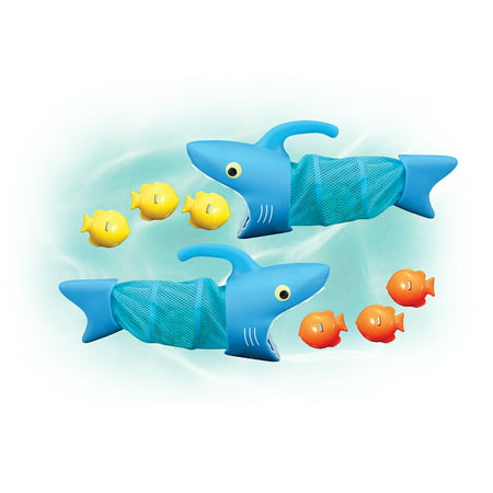 Melissa & Doug Sunny Patch Spark Shark Fish Hunt Pool Game With 2 Nets and 6 Fish to Catch](Melissa And Doug Basic Skills Board)
