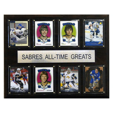 C&I Collectables NHL 12x15 Buffalo Sabres All-Time Greats Plaque