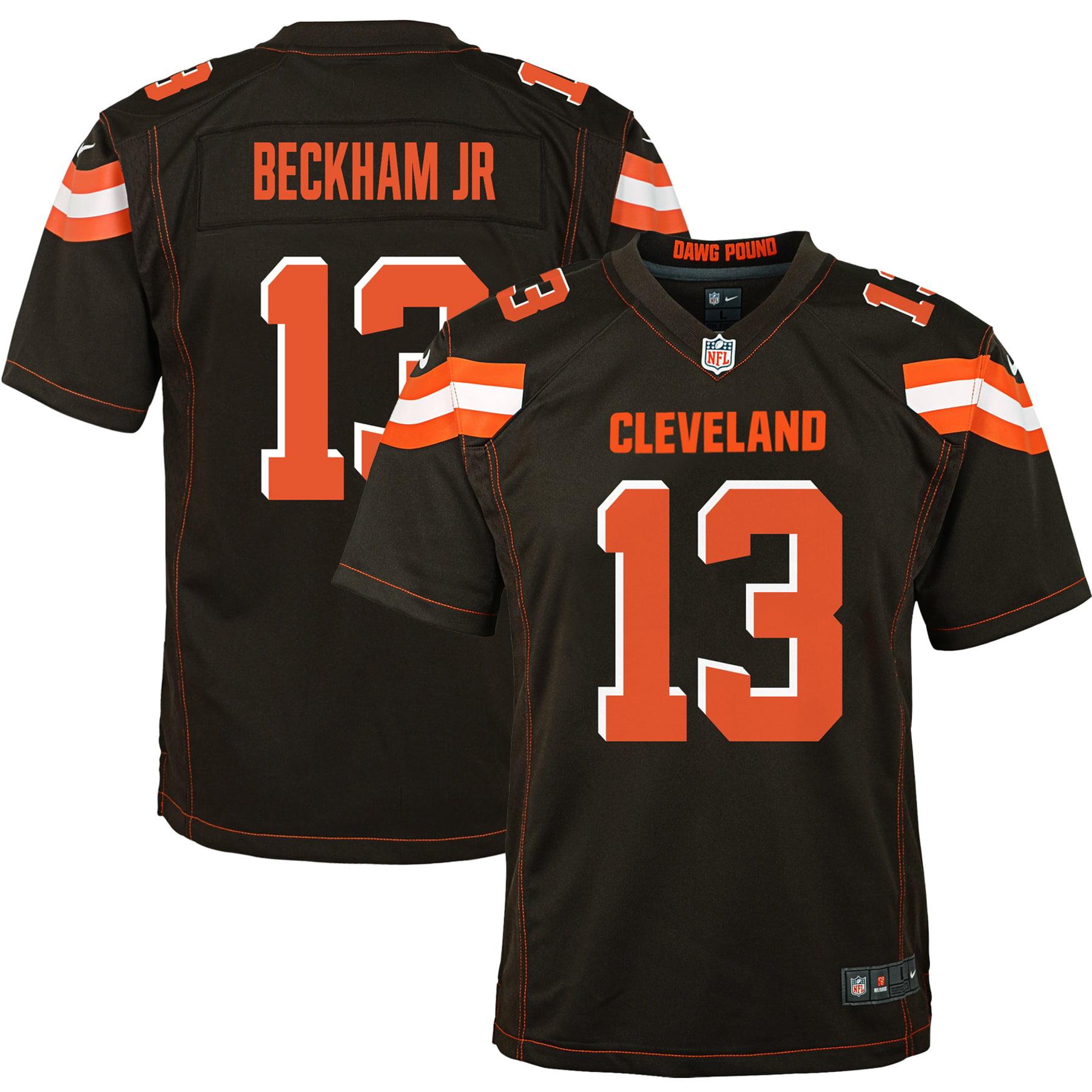 Odell Beckham Jr Cleveland Browns Nike Youth Game Jersey - Brown - Walmart.com