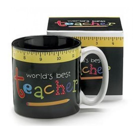 Easy Halloween Teacher Gifts (World's Best Teacher Coffee Mug Inexpensive Gift For Special)