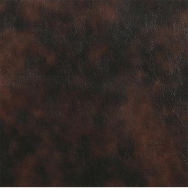 Designer Fabrics G576 54 in. Wide Brown, Upholstery Grade Recycled Leather