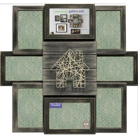 Better Homes Gardens 17 X 20 String Black Collage Frame