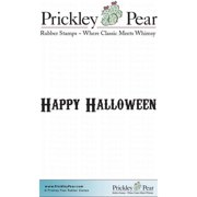 Prickley Pear Cling Stamps 2.25 Inch X 2 Inch-Happy Halloween