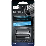 Braun Shaver Replacement Part 32 B Black - Compatible with Series 3 shavers