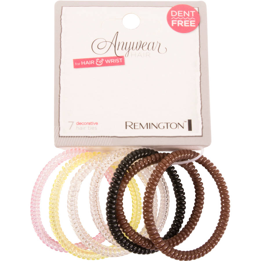 Remington Anywear Hair for Hair & Wrist Elastics, 7 ct