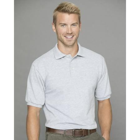 Jerzees Easy Care Double Mesh Ringspun Pique Sport Shirt