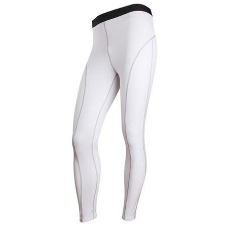 3eb21d282a Senfloco Men's Athletic Pants for Sports Compression Long Trousers Terylene  and Spandex, 6 Colors, Whtie - Walmart.com