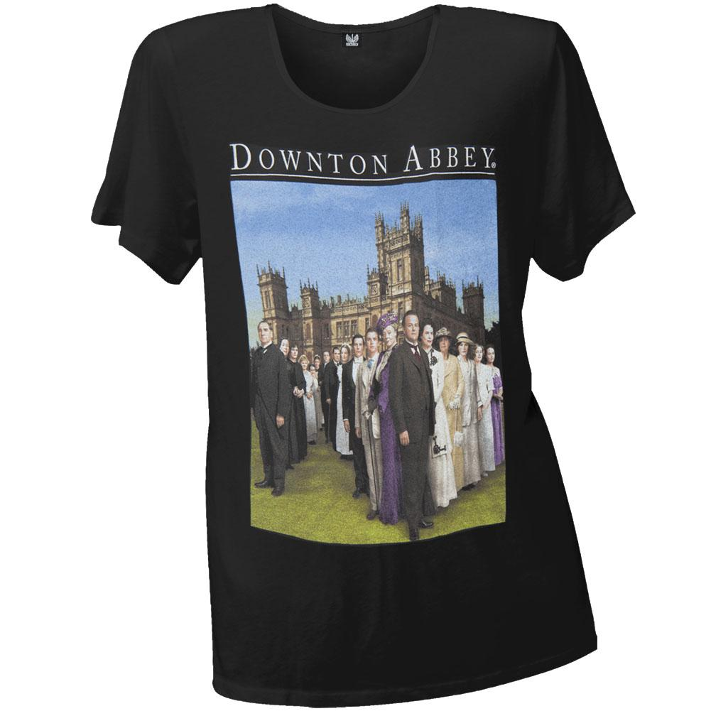 Downton Abbey - Downton Family Juniors T-Shirt