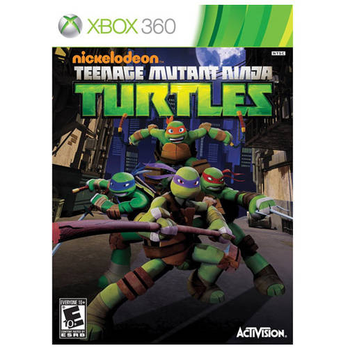 Teenage Mutant Ninja Turtle (Xbox 360) - Pre-Owned