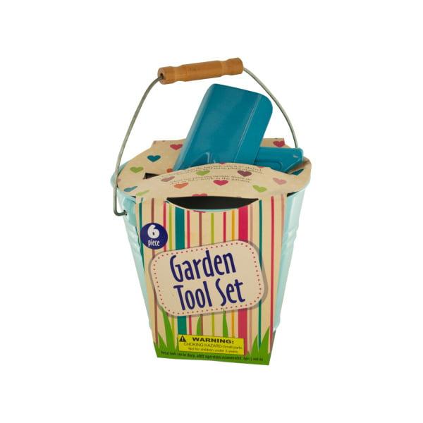 Garden Tool Set In Bucket (Pack Of 1)