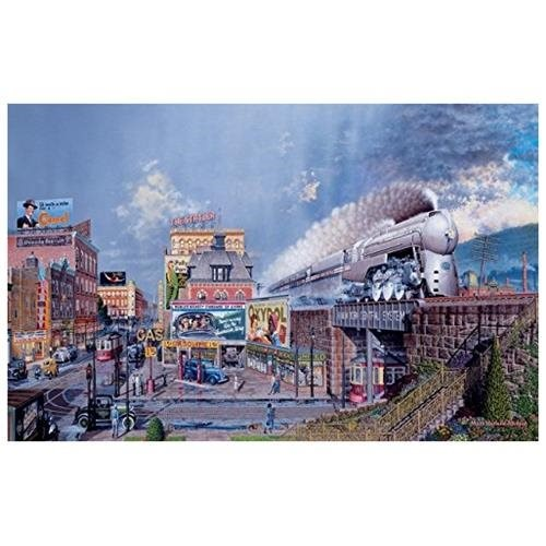 SunsOut The Century (Train) 1000-piece Jigsaw Puzzle SOIY0887