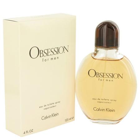 Calvin Klein Beauty OBSESSION Eau De Toilette Spray for Men 4 oz