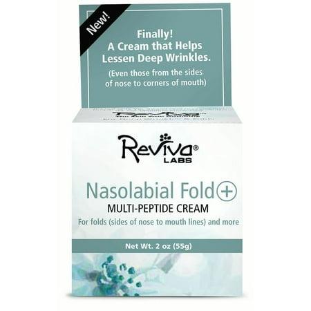 - Reviva Labs Nasolabial Fold Multi-Peptide Cream, 2 Oz
