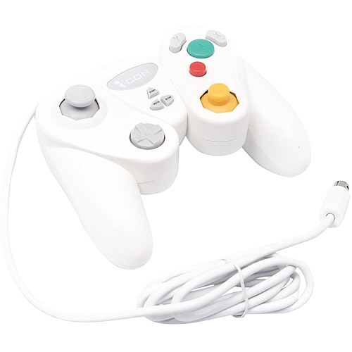 Gamecube Fighter Controller - White (wii