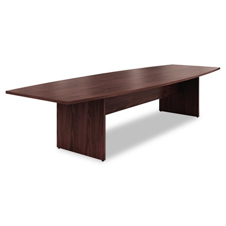 HON Preside BoatShaped Conference Table Top X Mahogany - 144 conference table