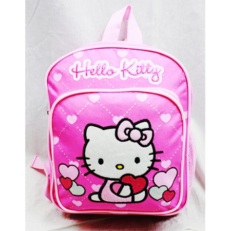 Mini Backpack - - Glitter Heart Pink School Bag 10 New Gifts 83068