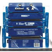 Eklind Tool Power-T 2-10mm Metric T-Handle Hex Key Set 9 in. 8 pc.