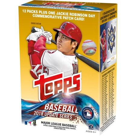 2018 Topps Baseball Update 12 Pack Exclusive Value Box