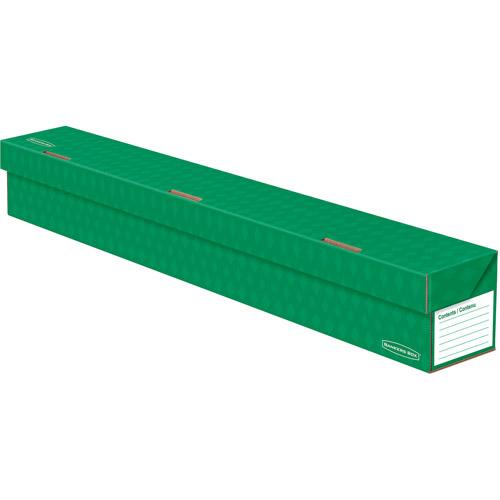 Fellowes Banker's Box Trimmer Storage Box, Green