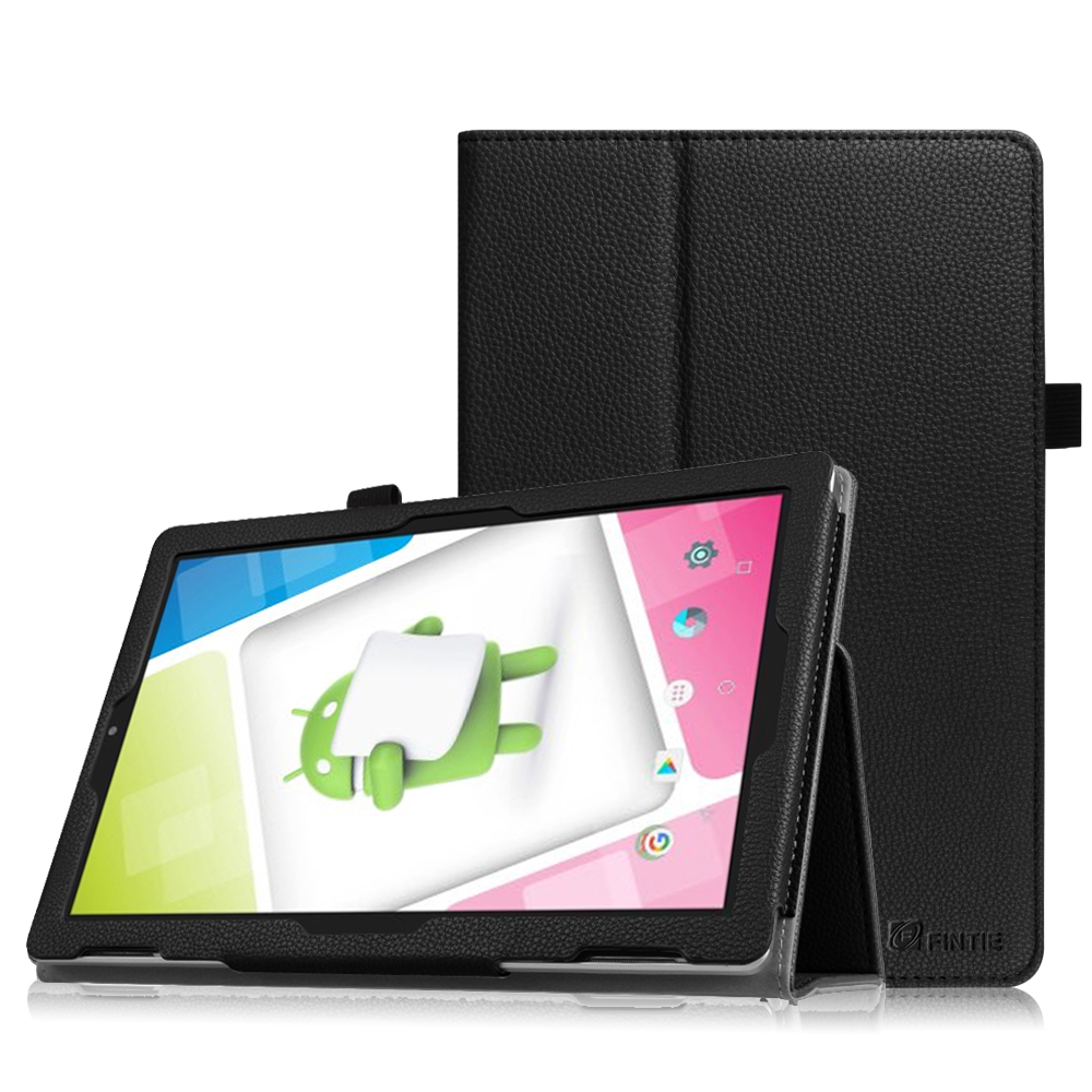 Fintie Nextbook Ares 10A Tablet Case - Premium PU Leather Standing Protective Cover  with Stylus Holder, Black