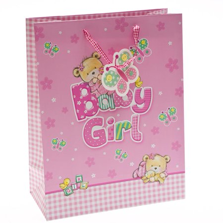 Large Baby Bear Girl Gift Bag for $<!---->