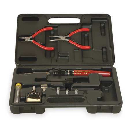 Master Appliance UT-100Si-TC 1202 F Soldering Iron Kit, With 5 Tips