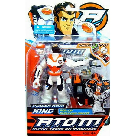 Atom Alpha Teens on Machines - Power Ram King Action Figure Includes DVD!