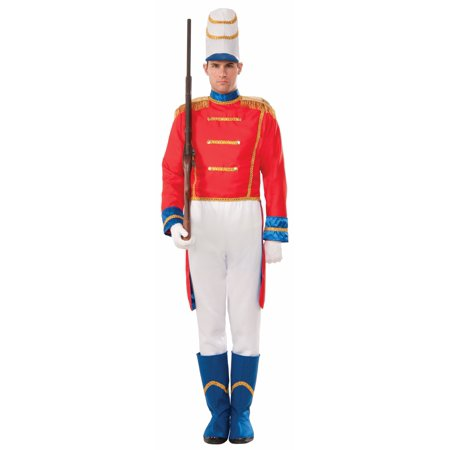 Toy Soldier Adult Costume Nutcracker Uniform Christmas Holiday Ballet Prince (Nazi Soldier Uniform)