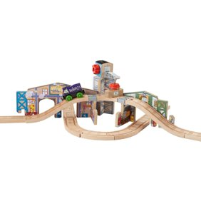 Fisher-Price Thomas the Train Wooden Railway Pirate Cove Discovery ...