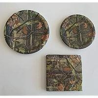 Hunting Camo Party 9' Plates (8) 7' Plates (8) Napkins (16)