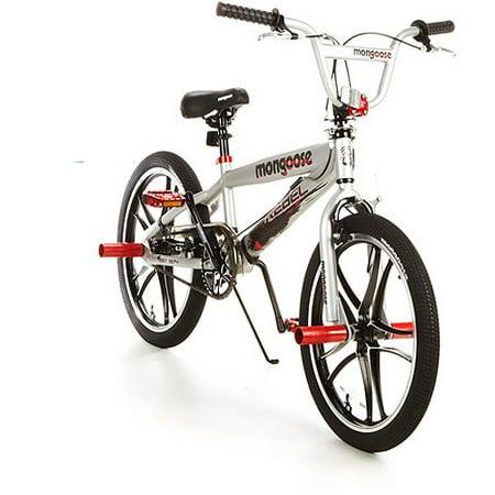 20'' Mongoose Rebel Boys' Freestyle Bike, Silver
