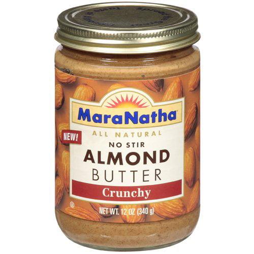 Maranatha Butter All Natural No Stir Almond Crunchy, 12 oz