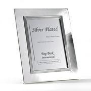 Bey-Berk Silver-Plated Brass 3.5 x 5 in. Photo Frame - Tarnish Proof