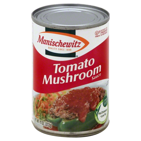 Manischewitz Tomato and Mushroom Sauce, 11 oz, - Pack of 12